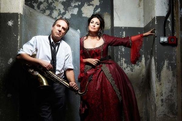 Madelyn Renee e Jacopo Jacopetti