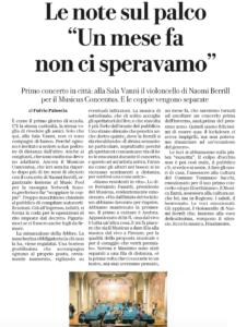 Fulvio Paloscia su La Repubblica